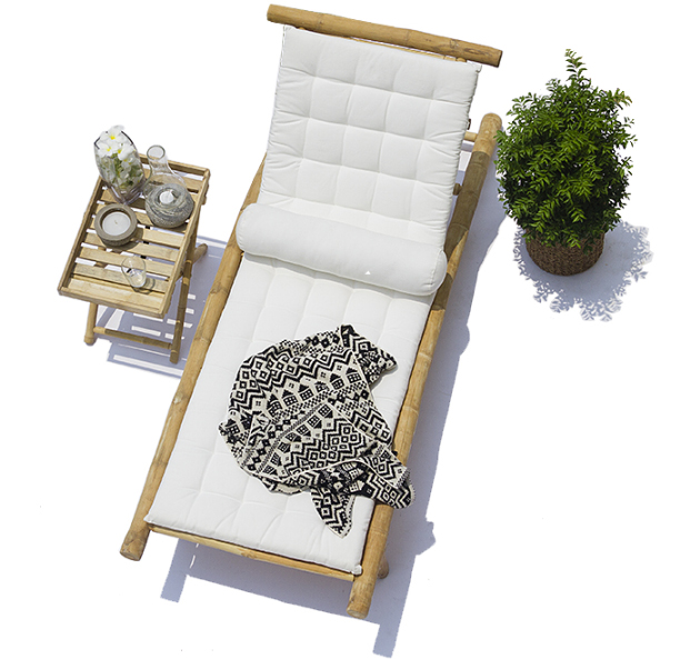Bamboo Deck Lounger