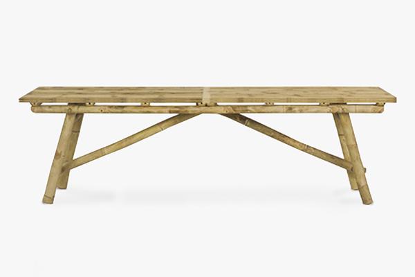 Mikado bench 150 x 40 x 45Hcm