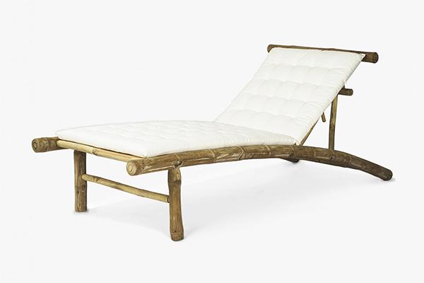 Deck lounger 200 x 75 x 40Hcm
