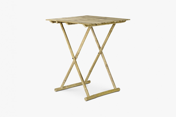 Egypt folding table 60 x 60 x 75Hcm