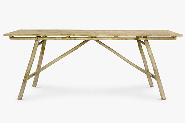 Mikado dining table 220 x 90 x 74Hcm