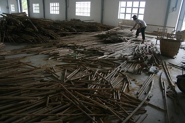 Bamboo sorting