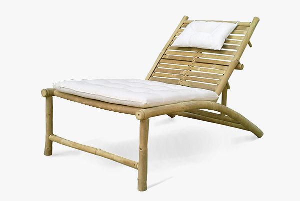Barcelona Deck chair 120 x 75 x 40Hcm