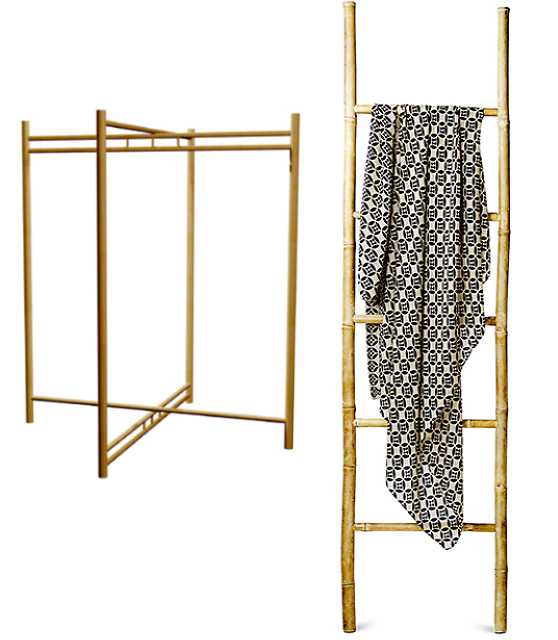 Cloth racks for retail shop