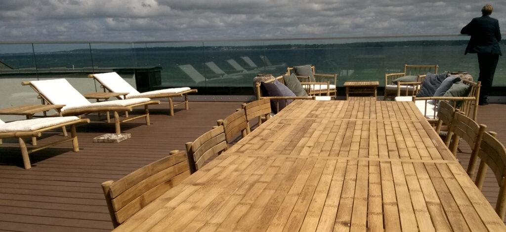 Resort - Hotel roof-top garden